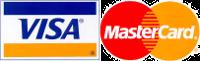 Pago online con Visa o Mastercard